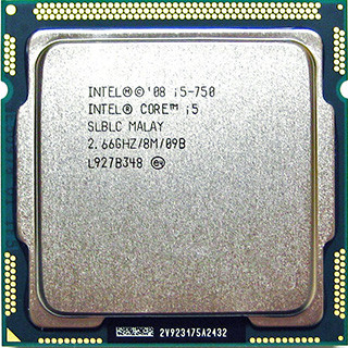 Процесор Intel Core i5 750 2.66 GHz BX80605I5750 Socket 1156 Б/У