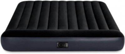 Надувний матрац Intex 203x152x25 см Чорний (64150)