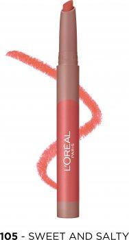 Помада-карандаш для губ L'Oreal Paris Matte Lip Crayon оттенок 105 1.3 г (3600523793907)