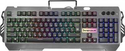 Клавіатура дротова Defender Renegade GK-640DL USB (45640)
