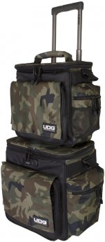Комплект сумкок UDG Ultimate SlingBag Trolley Set DeLuxe Black/Camo (U9679BC/OR)