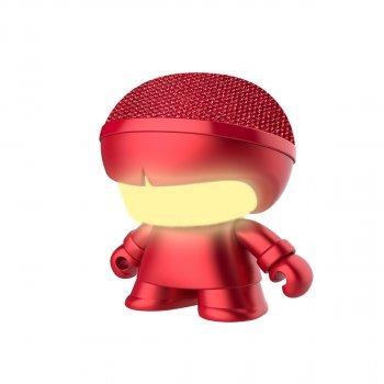 Акустика Xoopar - Mini Xboy (7,5 Cm, Червоний Металік, Bluetooth)