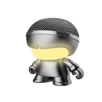 Акустика Xoopar - Mini Xboy (7,5 Cm, Сірий Металік, Bluetooth)