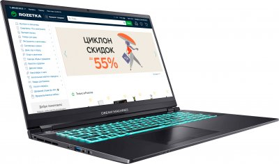 Ноутбук Dream Machines RS2060-17 (RS2060-17UA51) Metallic Gray