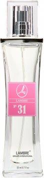 Парфуми для жінок Lambre №31 20 мл (3760183769022)