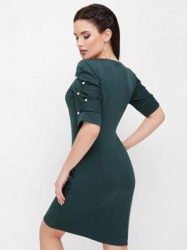 Плаття Fashion Up Caroline PL-1617B Темно-зелене