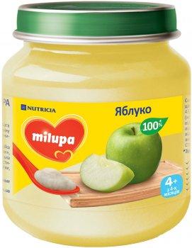 Упаковка фруктового пюре Milupa Яблоко с 4 месяцев 6 шт х 125 г (8591119003812)