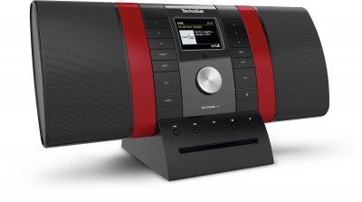 Цифровий радіоприймач TechniSat MULTYRADIO 4.0 чорно-червоний (0002/3920)