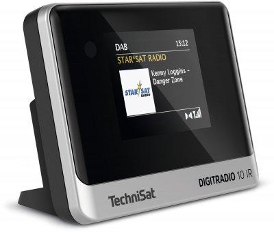 Цифрове радіо TechniSat DIGITRADIO 10 IR чорно-сріблястій (0010/3945)
