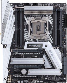 Материнська плата Asus Prime X299-Deluxe II (s2066, Intel X299, PCI-Ex16)