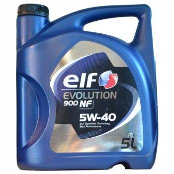 Моторное масло оригинальное Elf Evolution 900 NF 5W-40 5л