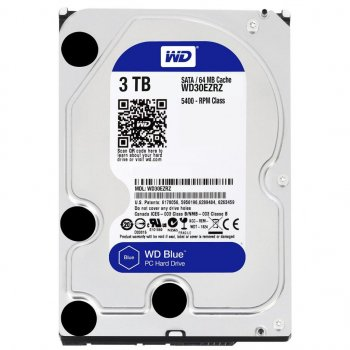 "Жорсткий диск 3.5"" 3TB Western Digital (WD30EZRZ)"