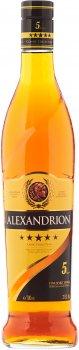 Крепкий алкогольный напиток Alexandrion 5* 0.7 л 37.5% (5942122000016)