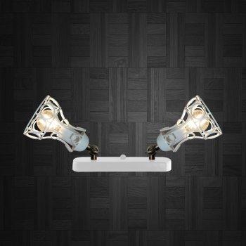 Світильник настінний Electropark, бра поворотне, стельова лампа RINGS/LS-2 білий (LS-0000473)
