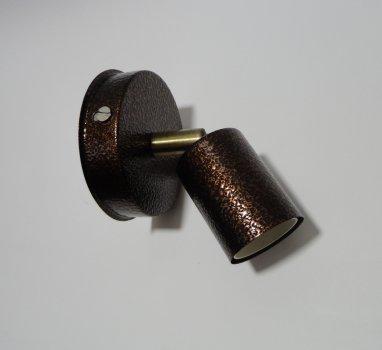 Світильник настінний Electropark, спот поворотний, стельовий поворотний світильник, на одну лампу, Е27 antik (LS-00012234)