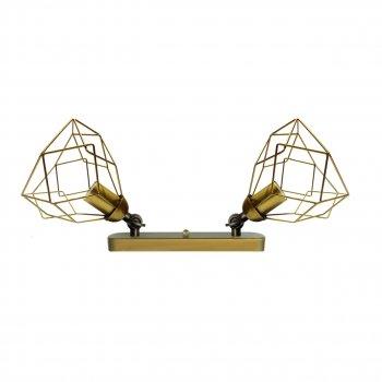 Світильник настінний Electropark, бра поворотне, стельова лампа RUBY/LS-2 золото (LS-0000467)