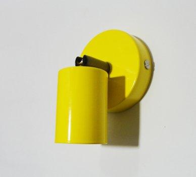 Світильник настінний Electropark, спот поворотний, стельова лампа, на одну лампу, жовтий колір (LS-0000488)