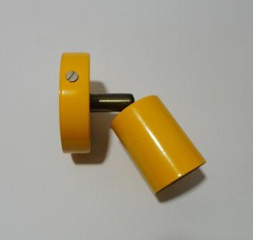 Світильник настінний Electropark, стельова лампа, мінімалізм, стандартний цоколь, помаранчевий колір (LS-000121)