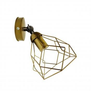 """Світильник настінний Electropark, бра поворотне, стельова лампа """"RUBY/LS"""" золото (LS-0000458)"""