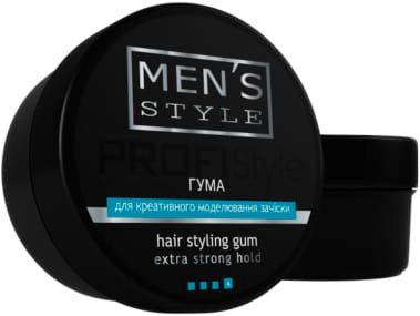 Гума PROFIStyle Men's Style для моделювання зачіски 80 г (4820003291139)