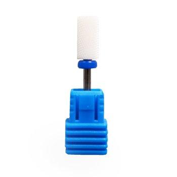 Фреза керамічна Nail Drill для зняття гель-лаку (Барабан), синя насічка.
