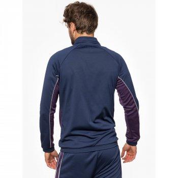 Олімпійка Wrangler Bomber Sweatshirt Regular Fit (W6568GI35) Синій
