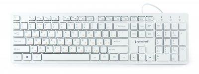 Клавіатура Gembird KB-MCH-03-W USB