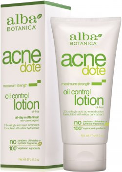 Ежедневный лосьон-регулятор жирности кожи Alba Botanica Acne Dote 57 г (724742007621)