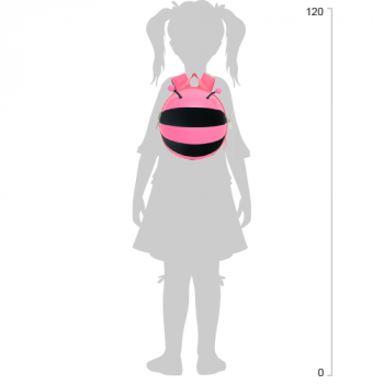 Рюкзак Supercute Пчёлка Розовый (SF034 d) (6970093411530)