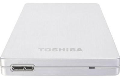 Жорсткий диск (HDD) Toshiba Canvio Alu 2018 Silver (HDTH310ES3AB) (HDTH310ES3AB)