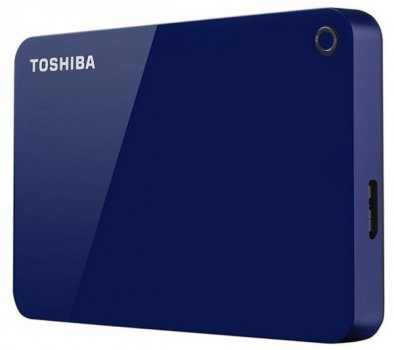 Жорсткий диск (HDD) Toshiba Canvio Advance Blue (HDTC910EL3AA) (HDTC910EL3AA)