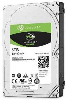 Жорсткий диск (HDD) Seagate BarraCuda 5400rpm 128MB (ST5000LM000) (ST5000LM000)