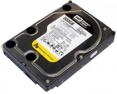"""Жорсткий диск (HDD) Western Digital 3.5"""" 500Gb (# WD5002ABYS #)"""