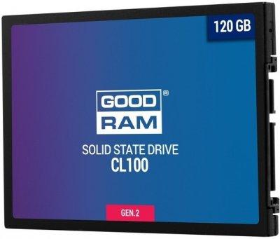 SSD-накопичувач GOODRAM CL100 120GB GEN.2 SATAIII TLC (SSDPR-CL100-120-G2)
