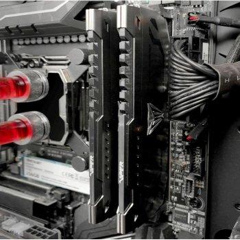Оперативна пам'ять DDR4 16GB (2x8GB) 3400 MHz Viper Steel Patriot (PVS416G340C6K)