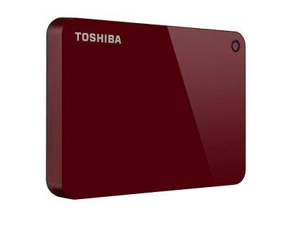 "Зовнішній жорсткий диск HDD 2.5"" USB 3.0, 2TB Toshiba Canvio Advance Red (HDTC920ER3AA)"
