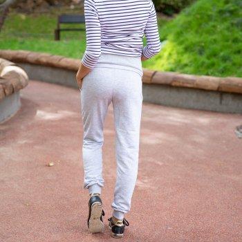 Спортивні штани для вагітних (демі) Lullababe Base меланж