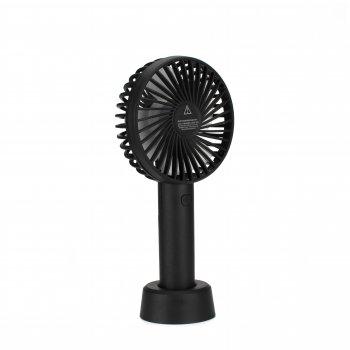 Портативний ручний вентилятор Mini Fan SS-2 на акумуляторі, Black