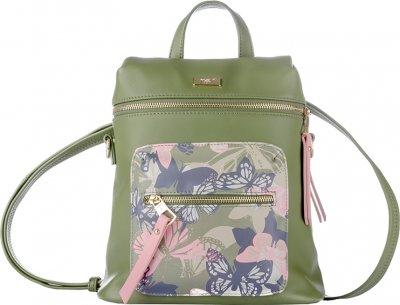Рюкзак YES Fashion YW-56 Trendy женский 0.95 кг 25x28x10 см 7 л Butterflies (558477)