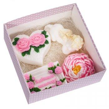 Набор мыла Bila Lileya ручной работы Любимой мамочке 360г (00528)