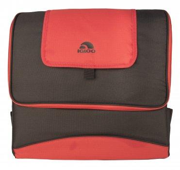 Термосумка Igloo Collapse & Sport Cool 36 коричневий з червоним 22 л (0342236305918)