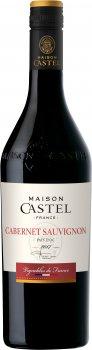 Вино Maison Castel Cabernet Sauvignon красное полусухое 0.75 л 13% (3211201046439)