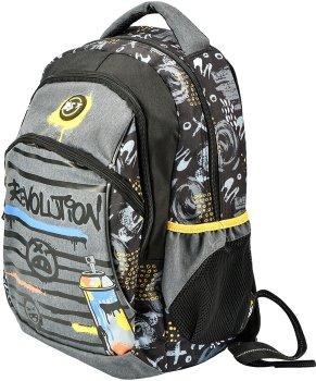 Рюкзак молодіжний YES T-45 Graffiti чоловічий 0.7 кг 30x42x16 см 20 л Revolution (558299)