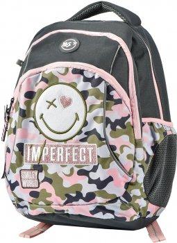 Рюкзак молодіжний YES T-45 Smiley World жіночий 0.7 кг 30x42x16 см 20 л Military girl (558298)