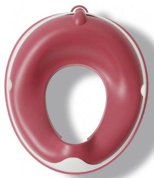 Накладка на унитаз Babyhood Динозаврик с полиуретановым кольцом розовая (BH-127P)
