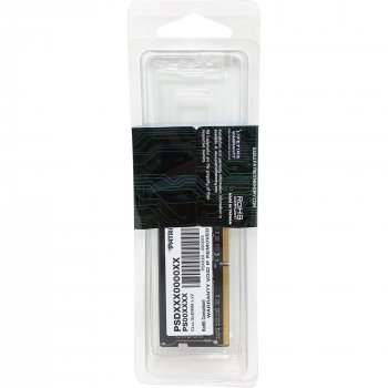 Оперативна пам'ять Patriot DDR4 4GB 2666 MHz Black (PSD44G266682S)