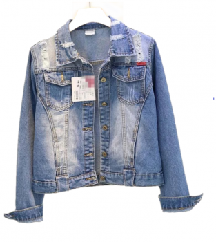 Джинсова куртка U7006 Синій (U7006)