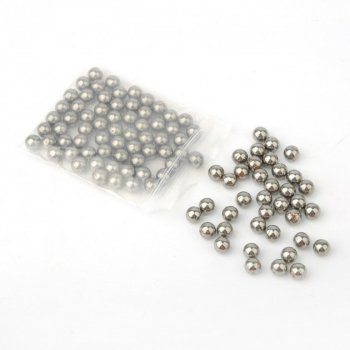 Металеві кульки для рогатки DEXT 8 мм сталь 12 упаковок (OK2215734622)