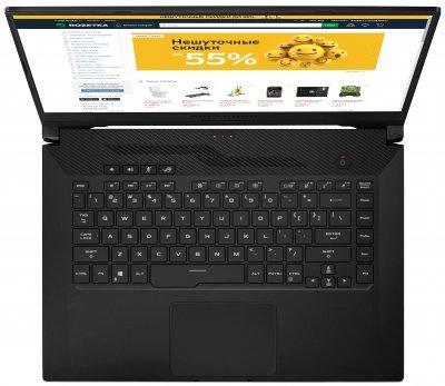 Ноутбук Asus ROG Zephyrus G15 GA502IV-AZ026 (90NR02R1-M01130) Black + фірмова сумка