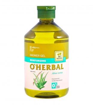 Увлажняющий гель для душа O Herbal с алоэ вера, 500 мл (5901845500050)
